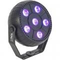 LED Par Can 6x 1.5W RGB 3-IN-1